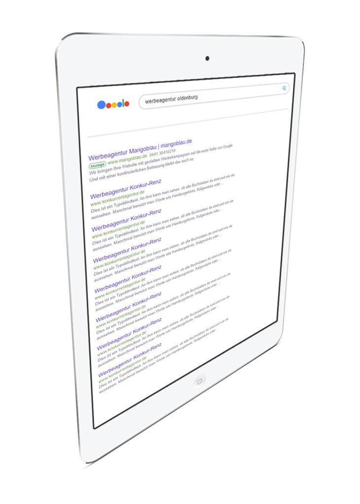 Onlinemarketing (SEA/SEM)